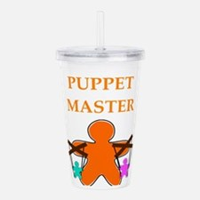 puppet master Acrylic Double-wall Tumbler