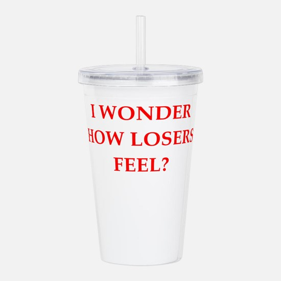 winner Acrylic Double-wall Tumbler