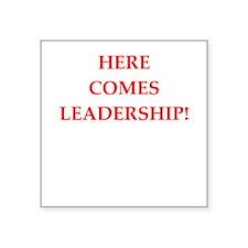 leadership Sticker
