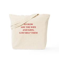 bad dad Tote Bag