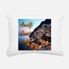 Amalfi Coast Rectangular Canvas Pillow