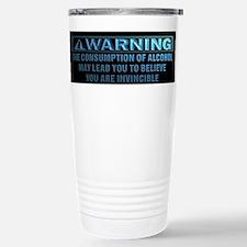 Alcohol Consumption Warning Travel Mug