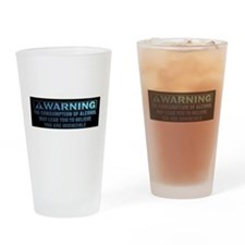 Alcohol Consumption Warning Drinking Glass