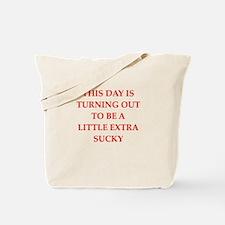 sucky Tote Bag