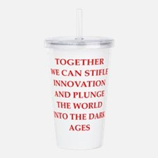 dark ages Acrylic Double-wall Tumbler