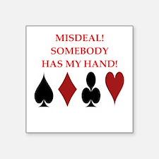 card player Sticker