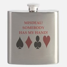 card player Flask