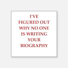 biography Sticker