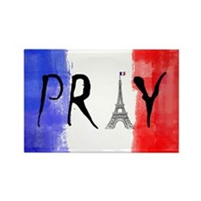 Pray For France Magnets