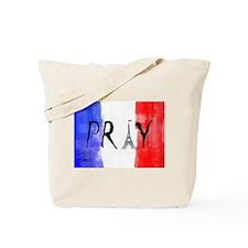 Pray For France Tote Bag