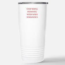 pedantic Travel Mug
