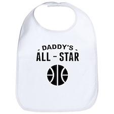 Daddys All-Star Basketball Bib