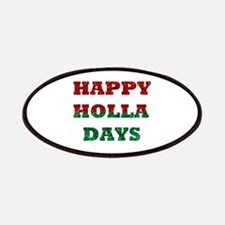 happy holla days Patch