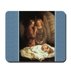 Guardian Angels - Mann - Mousepad