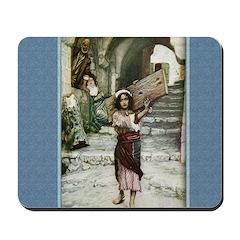 Jesus as a Youth - Tissot - Mousepad