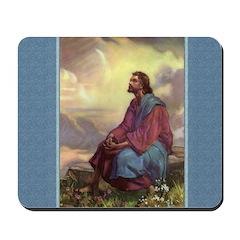 Jesus in the Fields - Egermeier - Mousepad
