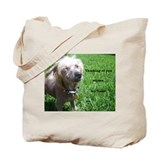 Chinese crested Canvas Bags