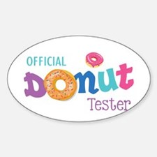 Official Donut Tester Decal