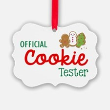 Official Cookie Tester Ornament