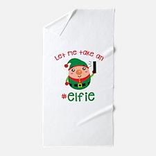 Let Me Take an #Elfie Beach Towel