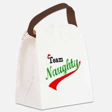 Team Naughty Canvas Lunch Bag
