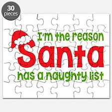 Santa Naughty List Puzzle