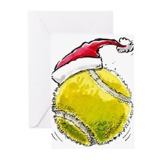 Cute Tennis players Greeting Cards (Pk of 10)