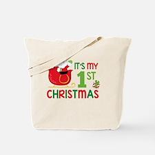 It's My 1st Christmas Tote Bag