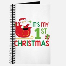 It's My 1st Christmas Journal