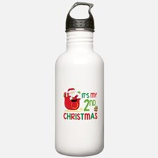 It's My 2nd Christmas Water Bottle