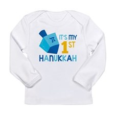 It's My 1st Hanukkah Long Sleeve T-Shirt