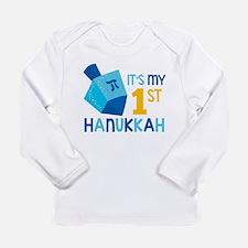 It's My 1st Hanukkah Long Sleeve T-Shirt