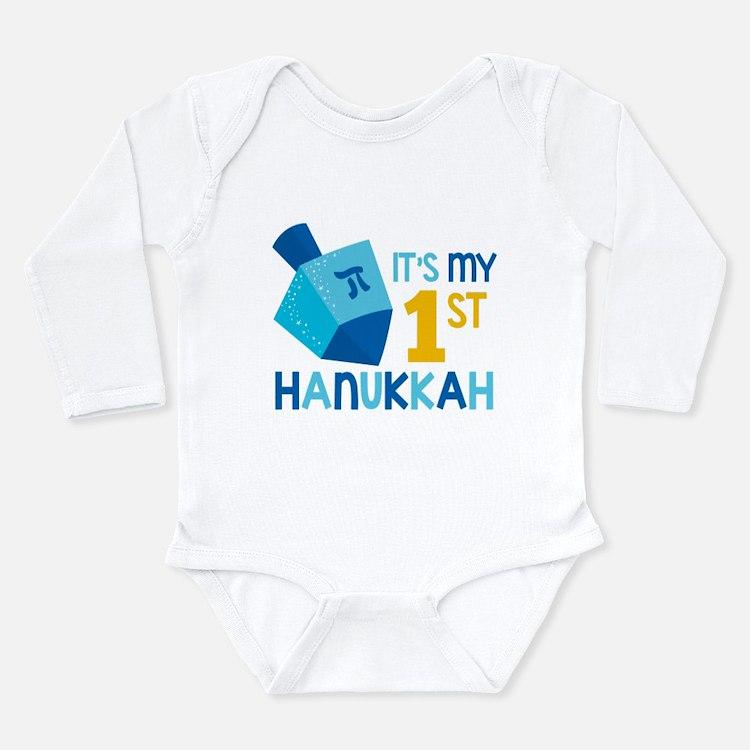 It's My 1st Hanukkah Body Suit