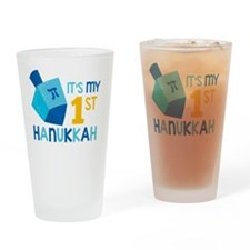 It's My 1st Hanukkah Drinking Glass