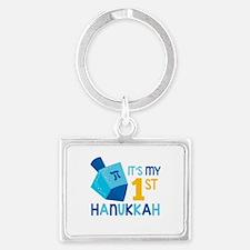 It's My 1st Hanukkah Keychains