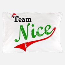 Team Nice Pillow Case