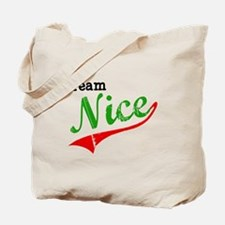 Team Nice Tote Bag