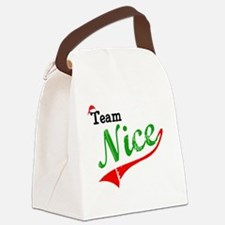 Team Nice Canvas Lunch Bag