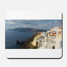 Santorini in the Afternoon Sun Mousepad