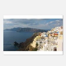 Santorini in the Afternoo Postcards (Package of 8)