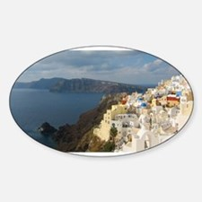 Santorini in the Afternoon Sun Decal