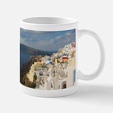 Santorini in the Afternoon Sun Mugs