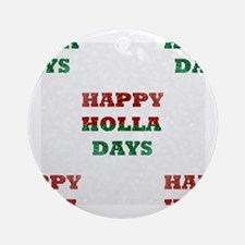 Cool Tacky christmas Round Ornament