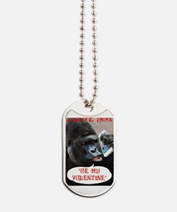 Cool Valentines day Dog Tags