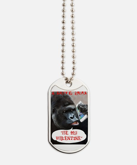 Funny Romantic valentines day Dog Tags