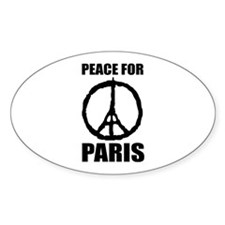 Peace For Paris Decal