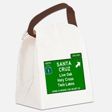 HIGHWAY 1 SIGN - CALIFORNIA - SAN Canvas Lunch Bag