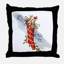 Vingate Christmas Stocking Throw Pillow