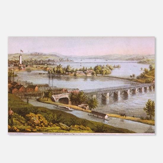 Unique Potomac Postcards (Package of 8)