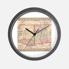 Cool Us map Wall Clock
